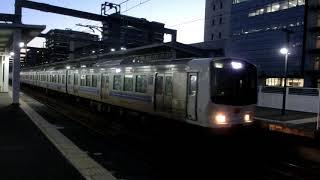 「RED EYE!」811系PM8105編成+PM104編成 区間快速門司港行 吉塚駅発車!