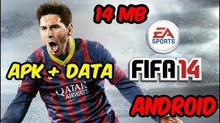 [14mb] Fifa 14 Highly Compressed Apk +data 100% Working Mediafire link