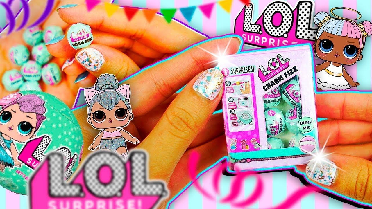 How To Make Miniature Lol Surprise Dolls Charm Fizz Blind