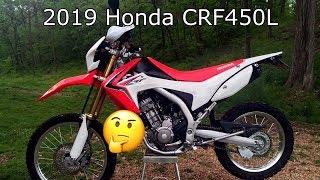 Finally Japan!! 2019 Honda CRF450L Dualsport Motorcycle