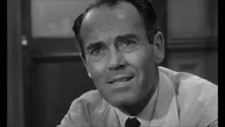 Генри Фонда «12 разгневанных мужчин» (1957). Лучшая сцена