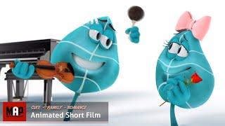Nette CGI-Animierten 3d-Kurzfilm ** BLATT TANGO - UNSERE LIEBE SPÜREN ** Cg-Filme für Kinder von Joel Stutz