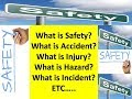 safety Question Answer interview /  Safety officer question & answer Part I