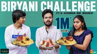 Biriyani Challenge Ft. Nikhil Devadula & Pranavi Manukonda || Kaasko || Tamada Media