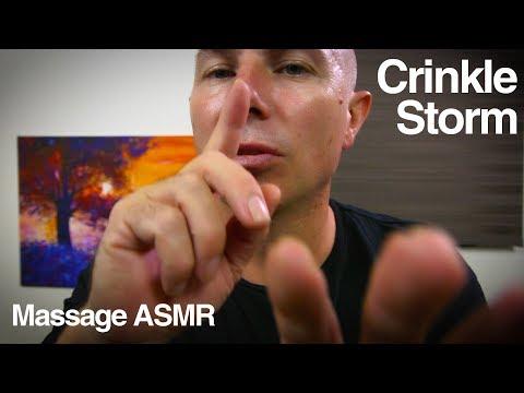 ASMR Crinkle Storm - No Talking - Layered ASMR Sounds for a Deep Sleep