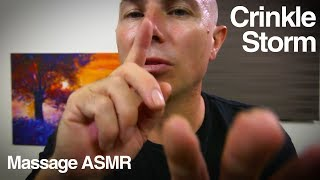 ASMR Crinkle Storm - No Talking - Layered ASMR Sounds for a Deep Sleep