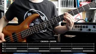 RAMONES - Judy is a punk (bass cover w/ Tabs) Mp3