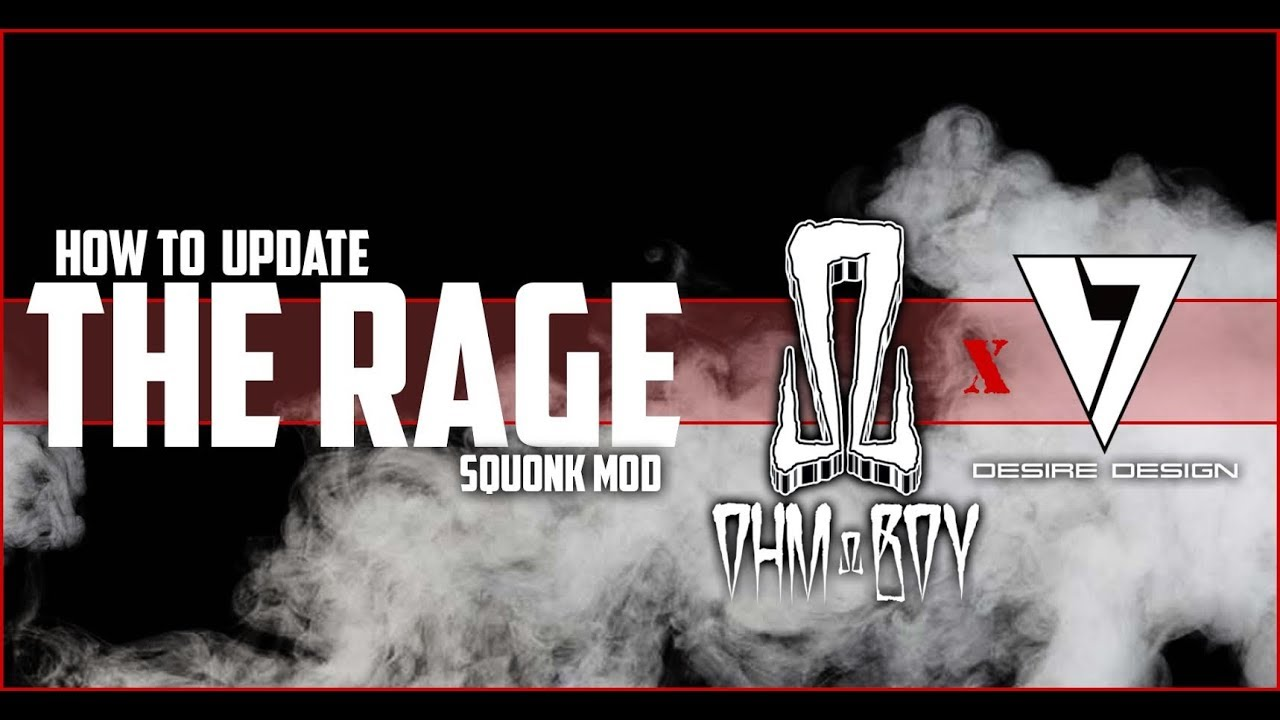 how to update the firmware on the rage squonk
