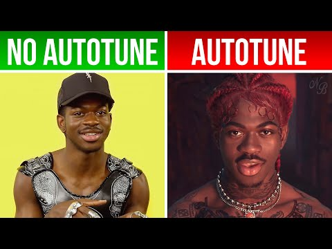 Lil Nas X 'Montero (Call Me By Your Name)'   *AUTOTUNE VS NO AUTOTUNE* (Genius)