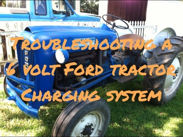 troubleshooting a problem in a 6 volt charging system on a