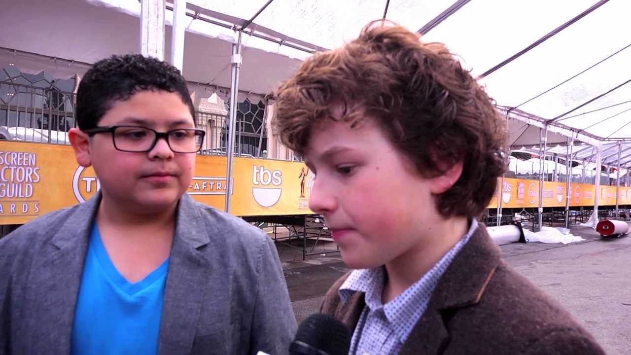 SAG Awards Behind the Scenes with Rico Rodriguez  Nolan Gould of Modern Family , YouTube