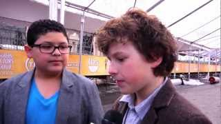 SAG Awards Behind the Scenes with Rico Rodriguez & Nolan Gould of Modern Family