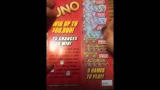 UNO NY lottery ticket #2