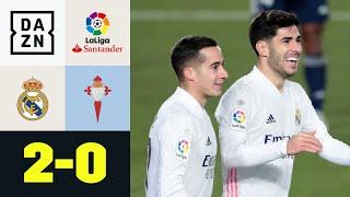 Vazquez & Asensio beenden Celta-Vigo-Serie: Real Madrid – Celta Vigo 2:0 | LaLiga | DAZN