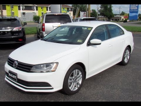 2017 Volkswagen Jetta 1.4T S Walkaround, Start up, Tour and Overview