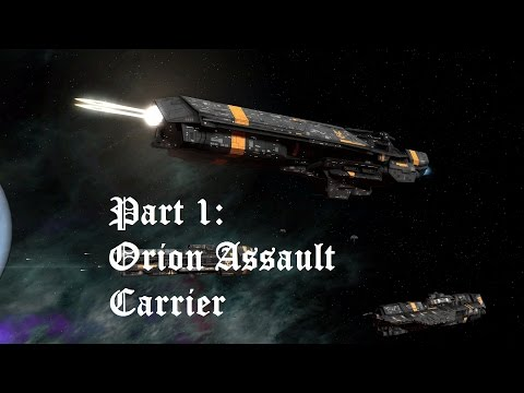 Sins of the Prophets Multiplayer (UNSC) With Loren Part 1: Orion Assault Carrier