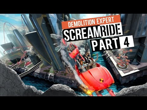 "Screamride - Let's Play - [Demolition Expert Campaign] - Part 4 - ""The Caldera Complex"""