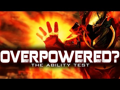 OVERPOWERED?? The Destiny Ability Test (Testing And Comparing OP Abilities)