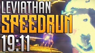 Destiny 2 - Leviathan Raid Speedrun WR in 19:11!