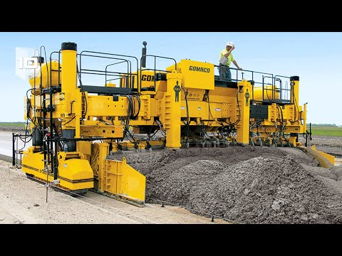 10 Most Amazing Road Construction Machines in the World