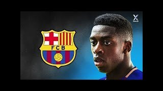 Ousmane Dembele 2017  OFFICIAL Welcome to FC Barcelona   Magic Skills Assists  Goals   HD