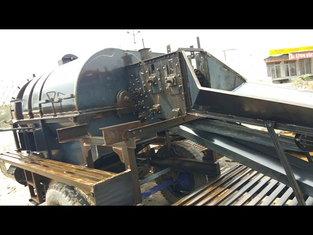 Double Fan Cutter Thresher Ready For Dispatch