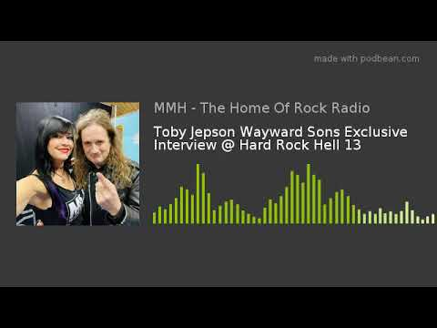 Toby Jepson Wayward Sons Exclusive Interview @ Hard Rock Hell 13