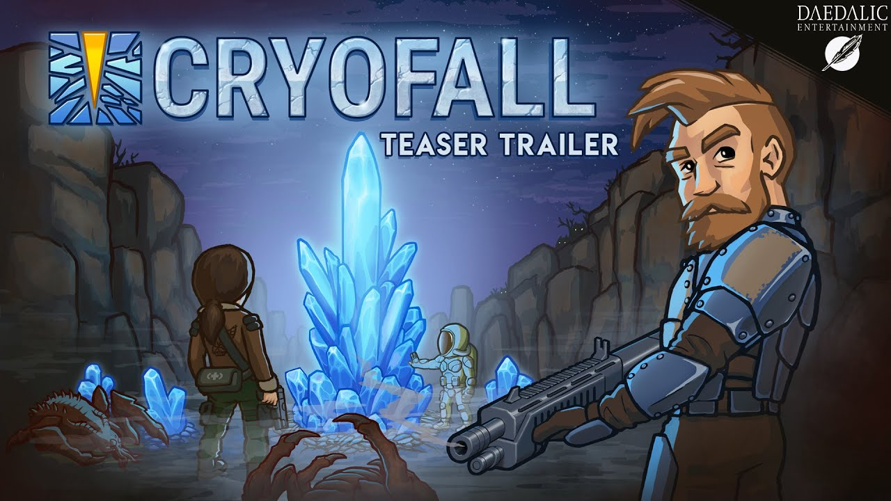 CryoFall straddles massively multiplayer with a scifi
