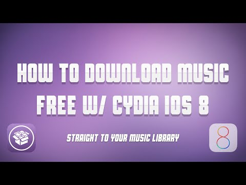 How to Download Music in iTunes App for FREE | iOS8 Cydia | Straight to Music Library