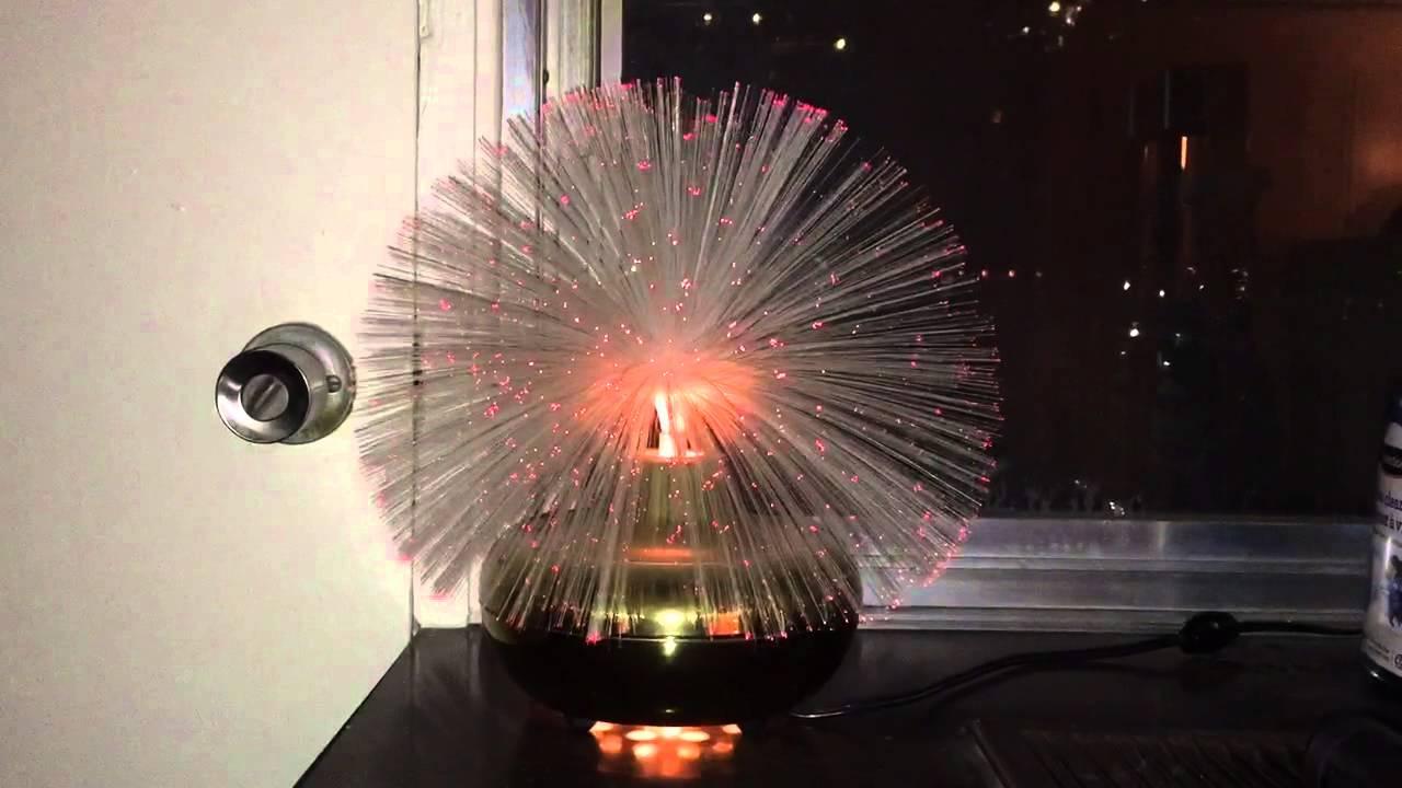 optical fiber rotating lamp diagram fiber optic lamp video 1 - youtube #14