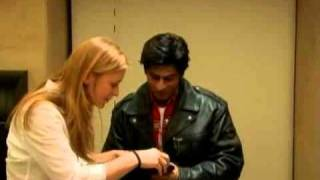 Shah Rukh Khan gets measured for London wax statue Madame Tussaud