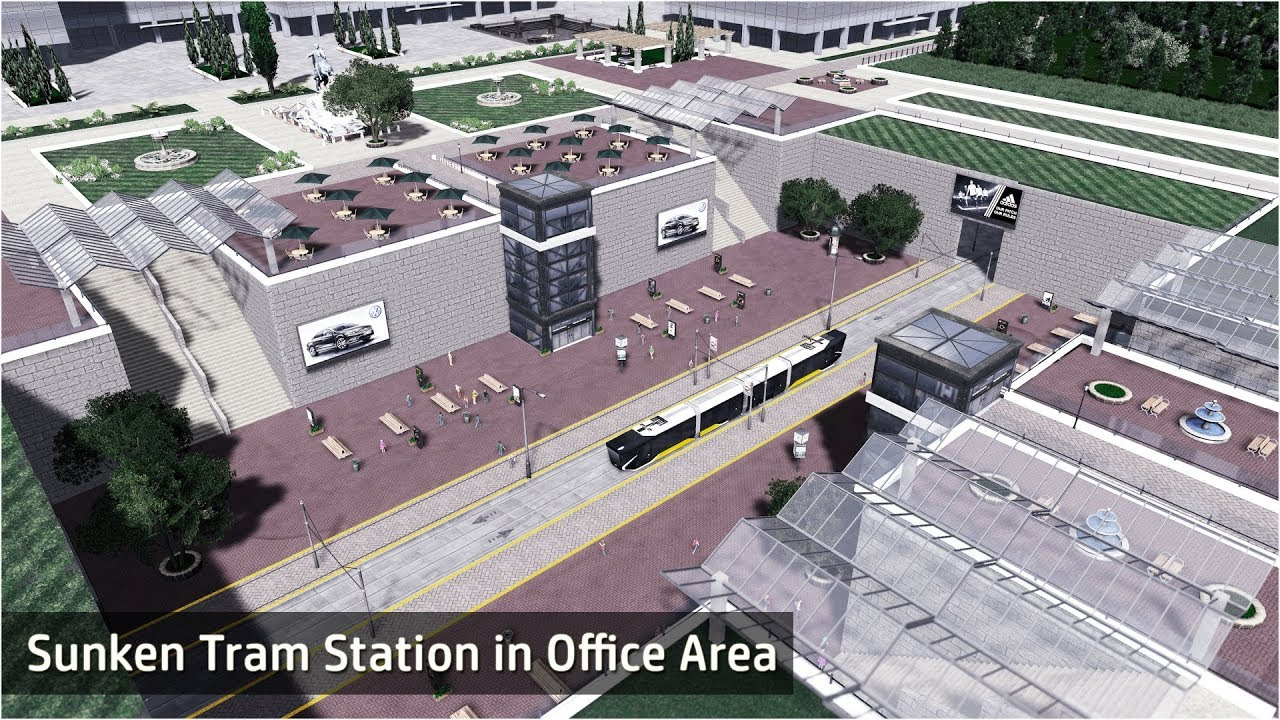 cities skylines how to build offices