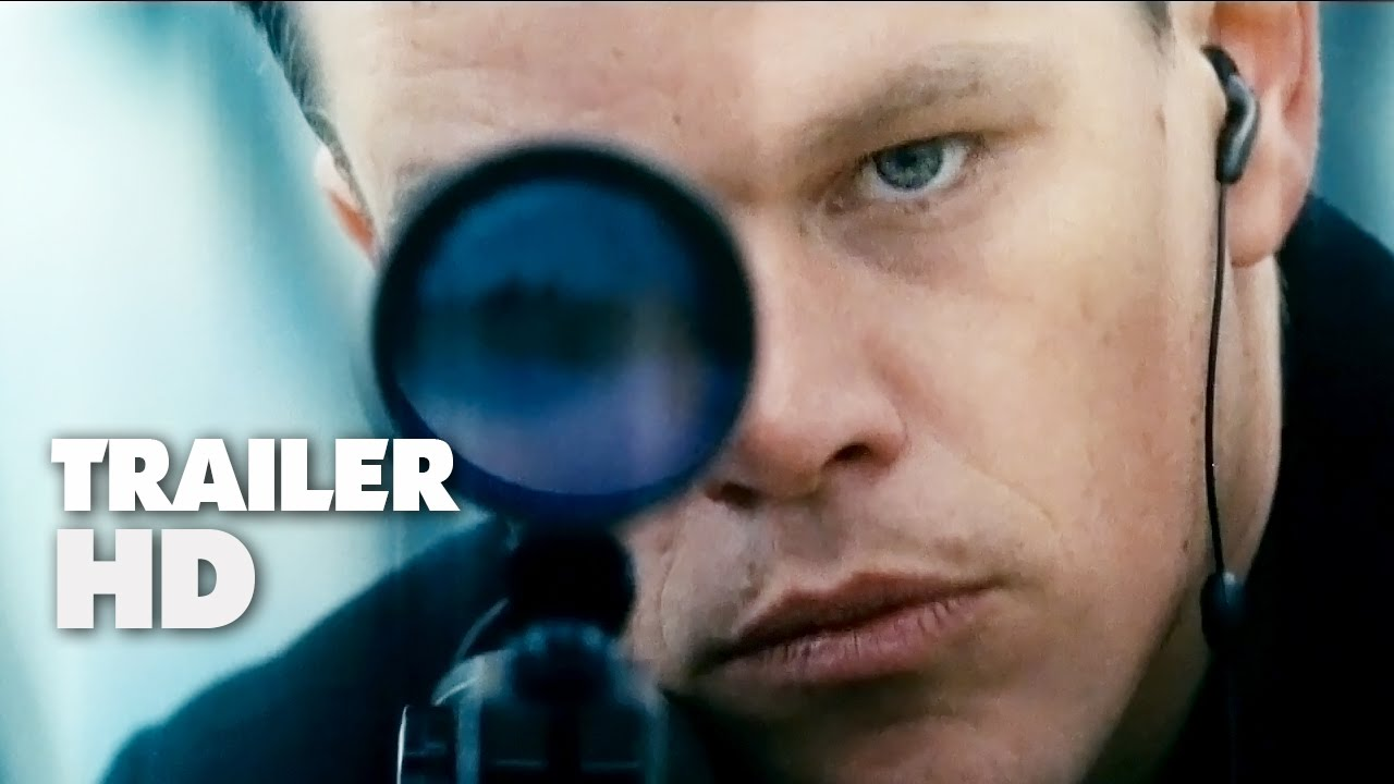 Jason Bourne - Official Film Trailer 2016 - Matt Damon Movie HD