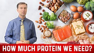 Protein for Weight Loss - How Much PROTEIN Do We Really Need? MUST WATCH!