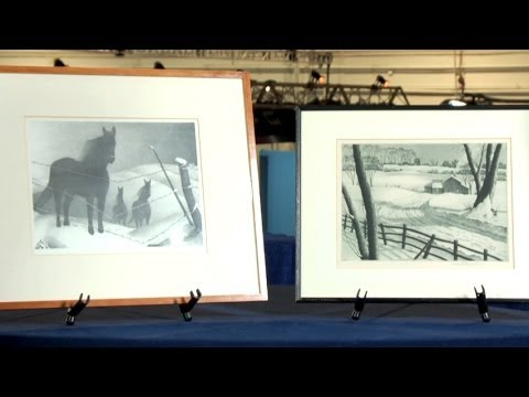 G. Wood Lithograph & S. Margolies Etching | Web Appraisal | Boise
