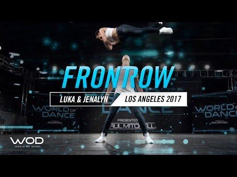 Luka & Jenalyn | FrontRow | World of Dance Los Angeles 2017 | #WODLA17