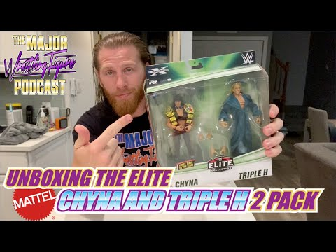 Unboxing The Elite Triple H And Chyna 2-Pack