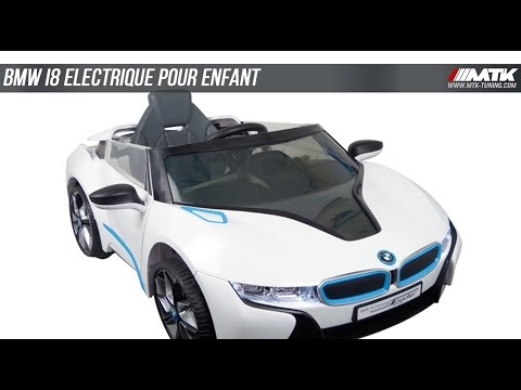 bmw i8 voiture lectrique pour enfant mtk tuning youtube. Black Bedroom Furniture Sets. Home Design Ideas