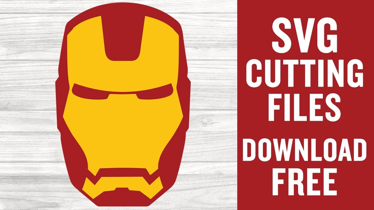 Download Iron Man SVG Free Svg Cutting Files for Cricut Maker - YouTube