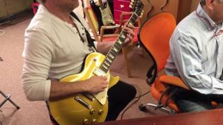 Destructor In the Studio (3/4) - Two Guitar Tracks, One Part