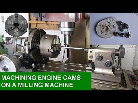 Machining Engine Cams on a Milling Maching