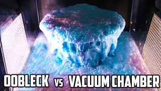 Oobleck in Vacuum Chamber