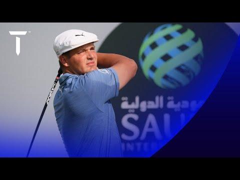 Bryson DeChambeau shoots opening 65   Round 1 Highlights   2021 Saudi International