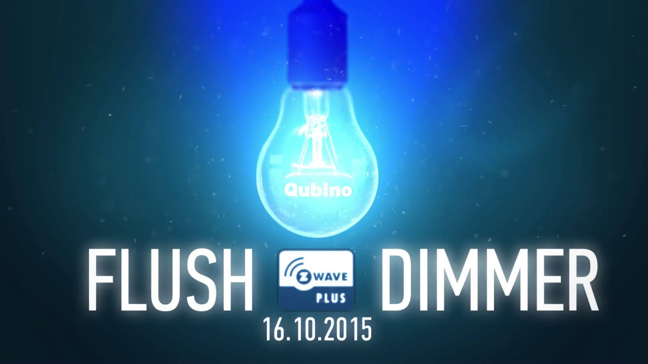 Qubino Flush Dimmer - Z-WAVE PLUS - YouTube