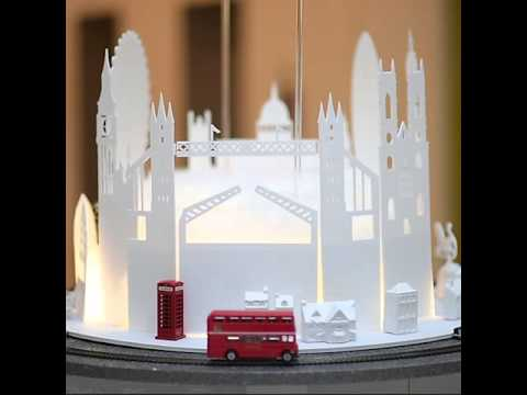 TwinkleOfChristmas2015 Installation with London Bus