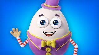 Humpty Dumpty Sat On A Wall | Popular Nursery Rhymes Collection by Polly Olly
