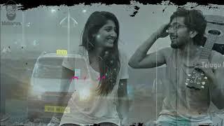 Husharu-Ninne nammi chesane neram whatsapp status video lyrical Telugu | 2020