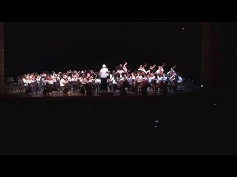 A Japanese Christmas-Collins Intermediate School Honor Orchestra December 14, 2015