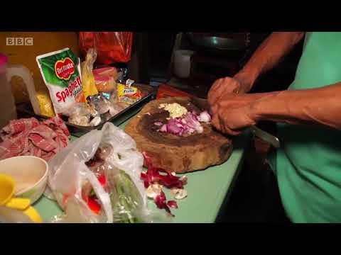 (คลิป) กล้ากินไหม ปั่กปั่ก อาหารจากกองขยะในฟิลิปปินส์