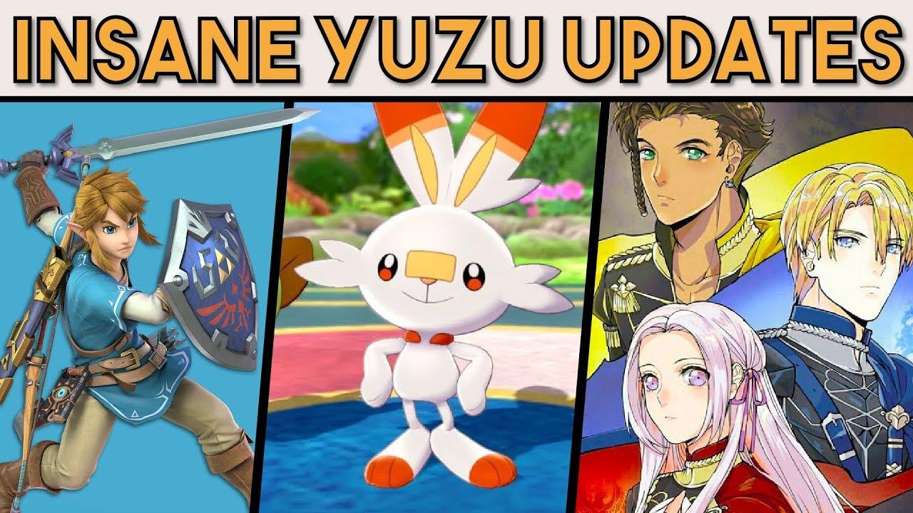 Yuzu Nintendo Switch Emulator Massive Performance Improvements Showcased In New Video